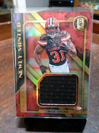 NICK CHUBB NEWLY MINTED JUMBO JERSEY PATCH 179/199 Southbridge, 01550