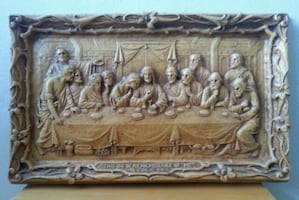 The Last Supper Wall Mounted