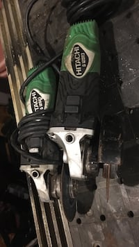 2 black and green hitatchi angle grinder Virginia Beach, 23464