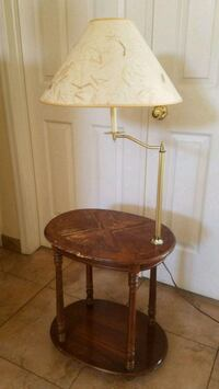 Vintage wooden table/lamp  Henderson, 89074