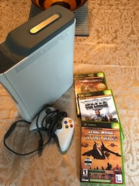 Xbox 360 with controller and games Delta, V4E 2R5