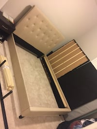 NEW** Double Fabric Bed Frame Markham, L6B 0W2
