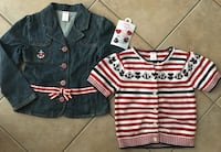 GYMBOREE Size 7/8 'Anchors Away' Line Clothing Lot Guelph, N1K 1Y7