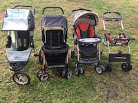 Jogger,Tandem, chicco and adapter stroller Takoma Park, 20912
