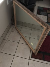 "Mirror / 39"" x 31"" / antique"