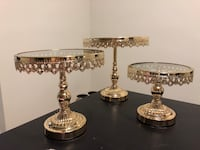 Cake stands for rent(candy jars and holders) Toronto, M9R 0A3