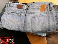 2 pair brand name jeans