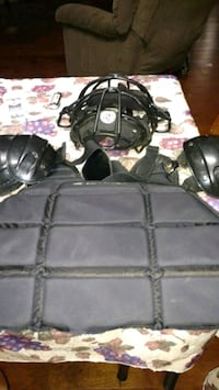 Umpire mask and chest protector $20 OBO Oxford, 36203