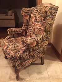 Wing chair and curtain Mississauga, L4X 1B7