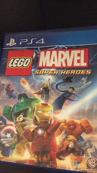Lego Marvel Super Heroes PS4 game case Rocky View No. 44, T0J 1X2