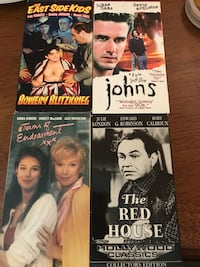 VHS Movies - Terms of Endearment XXX, The Red House, The East Side Kids Bowery Blitzkrieg, & Johns Nottingham, 21236