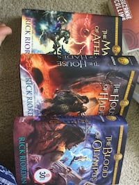 Olympus series hardcover (3-5) Shelby Township, 48317
