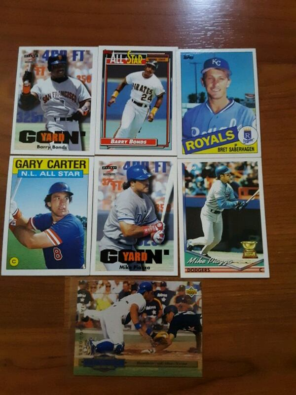 Baseball mix cards (16 cards collection)  86de7891-5918-462f-8c31-5a51760cae98