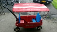 baby's red and blue bassinet stroller Schenectady, 12303