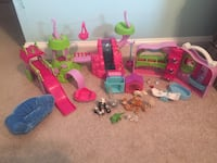Puppy in my Pocket and Friends playset lot  Knoxville