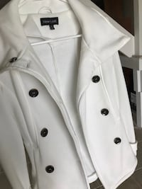 XS white peacoat—never worn Portage, 49002