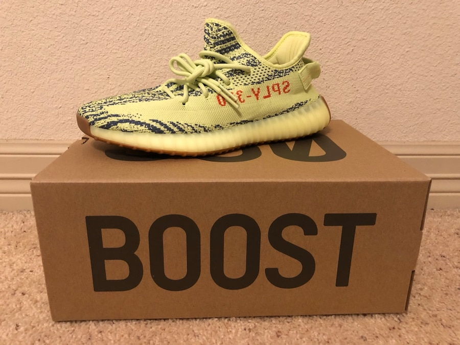 FS] (Adidas) Yeezy Boost 350 Semi Frozen Yellow size 11 for