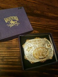 Fort Smith Old Fort Days Rodeo Belt Buckle Alma, 72921