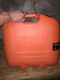Paslode angled 16g finish nailer works great try it before you buy it Earl, 17557