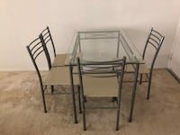 Glass Dinning Table Set null