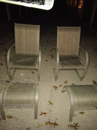 two brown wooden folding chairs 292 mi