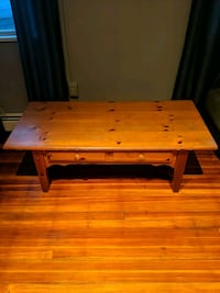 Wooden coffee table (wooden side table combo if needed) Rahway, 07065