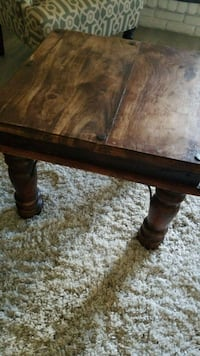 rectangular brown wooden coffee table Mission Viejo, 92691