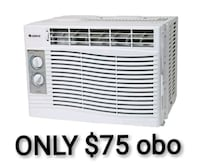 white window-type air conditioner Winnipeg, R2K 1P4