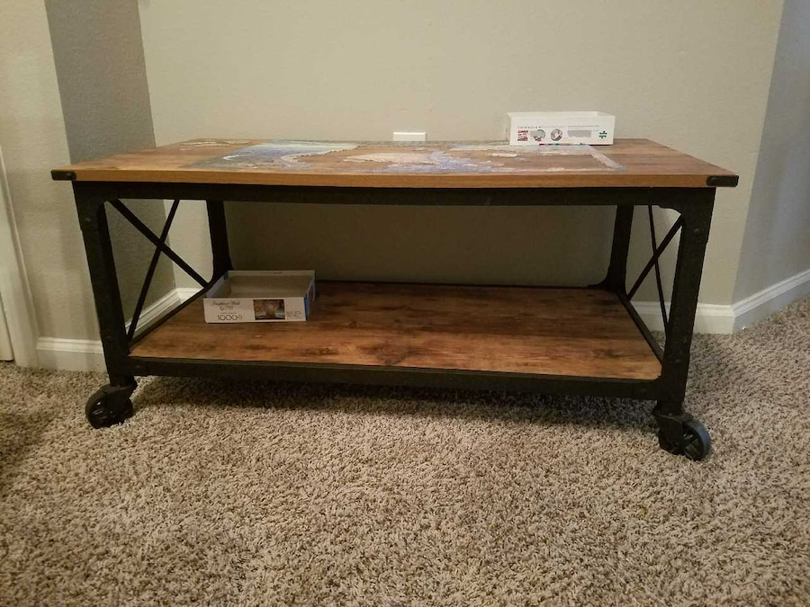 Media Center And Matching Coffee Table In Houston Letgo
