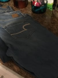 black and gray denim bottoms Gastonia, 28052