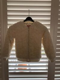 Lid Rose faux fur coat from Italy, size 6 and size 10 Toronto, M9M 2W3