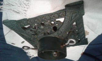 Antique christmas tree stand