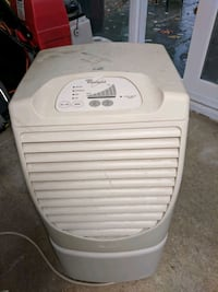 white Haier portable air cooler Silver Spring, 20906