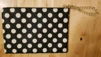 Betsey Johnson Polka Dot Cosmetic Bag
