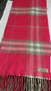 Authentic Pink Burberry Scarf  Toronto, M4N 2J2