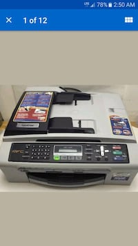 Brother printer fax all-in-one scanner. Lancaster, 93534