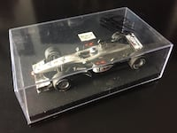 Mika Hakkinen SIGNED model Formula One champion 1:43. Toronto, M8V 4E8