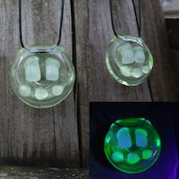Uv Zombie mouth glass necklace  Montgomery County, 45459