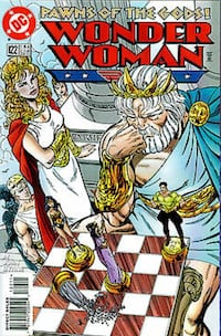 Wonder Woman # 122 Pawns Of The Gods DC Comics