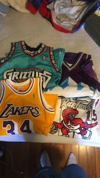 Throwback NBA jerseys ( price is negotiable)  Oakville, L6M 3V5