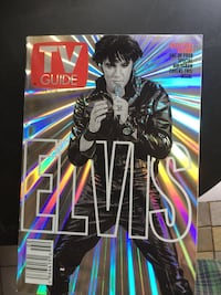 Elvis Presley Hologram TV Guide 2001 collector magazine Baltimore, 21239