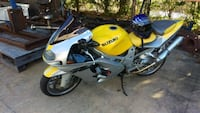 yellow and black Suzuki sports bike Houston, 77041