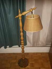 Unique Wood Crafted Standing Lamp.  Toronto, M3C 4B4