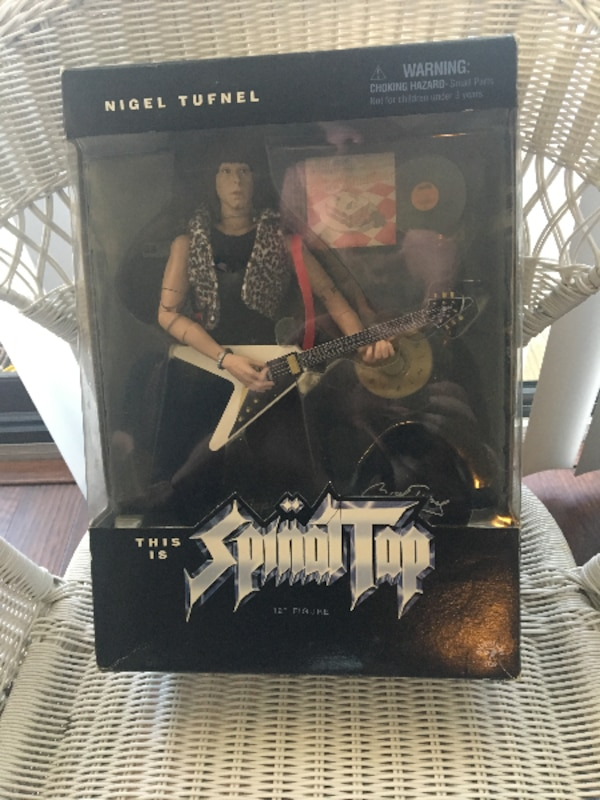 Spinal Tap Nigel Tufnel Action figure in box