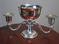 Silver candle holder VANCOUVER