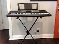 Black and gray electronic keyboard Glen Cove, 11542