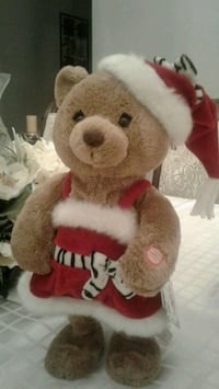 Hallmark animated plush santa bear.moves & sings Kitchener, N2K 4J7