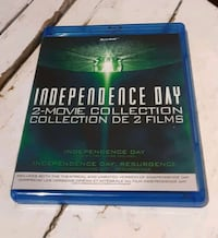 INDEPENDENCE DAY 2-MOVIE COLLECTION BLU-RAY Welland, L3B 4T6
