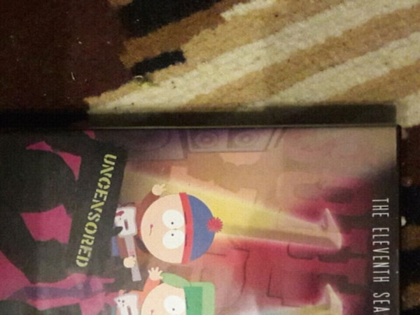 South park seasons 6 and 11 DVD