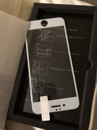 iPhone 6 glass protector full white
